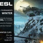 ESL Zimski Kup - termini, prijave i nagrade