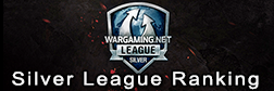 Wargaming league Silver Series Ranking table