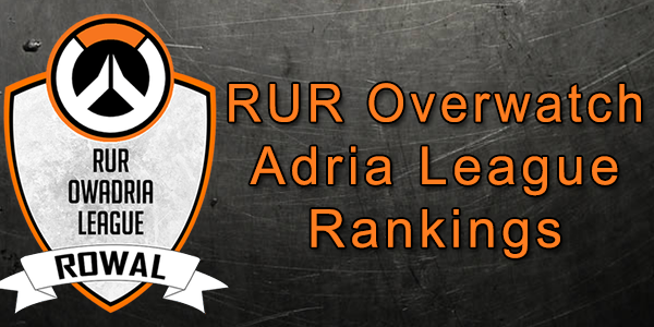 RUR Overwatch Adria League #1