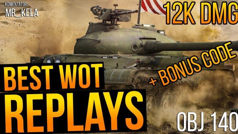 best wot replay mines obj 140