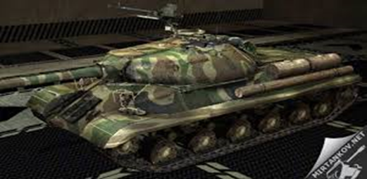 Sovjetska zver IS - 3 tier 8 heavy tenk