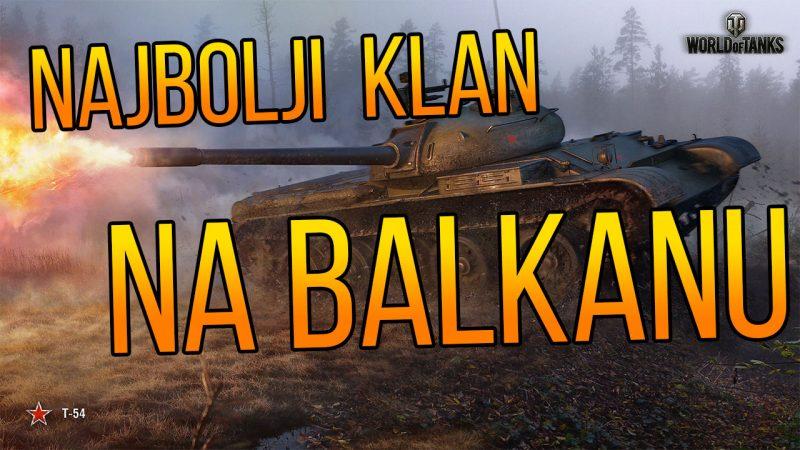Koji je najbolji WOT klan na Balkanu? - GLASANJE