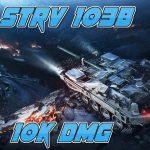Laponac Gaming - Strv 103B - Red line snipu - 10k dmg