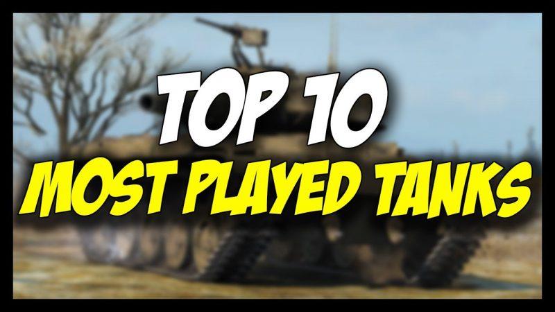 top 10 najigranijih tenkova