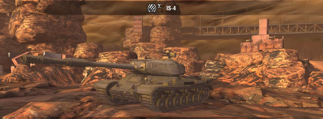 IS-4 odličan oklop za sidescreep