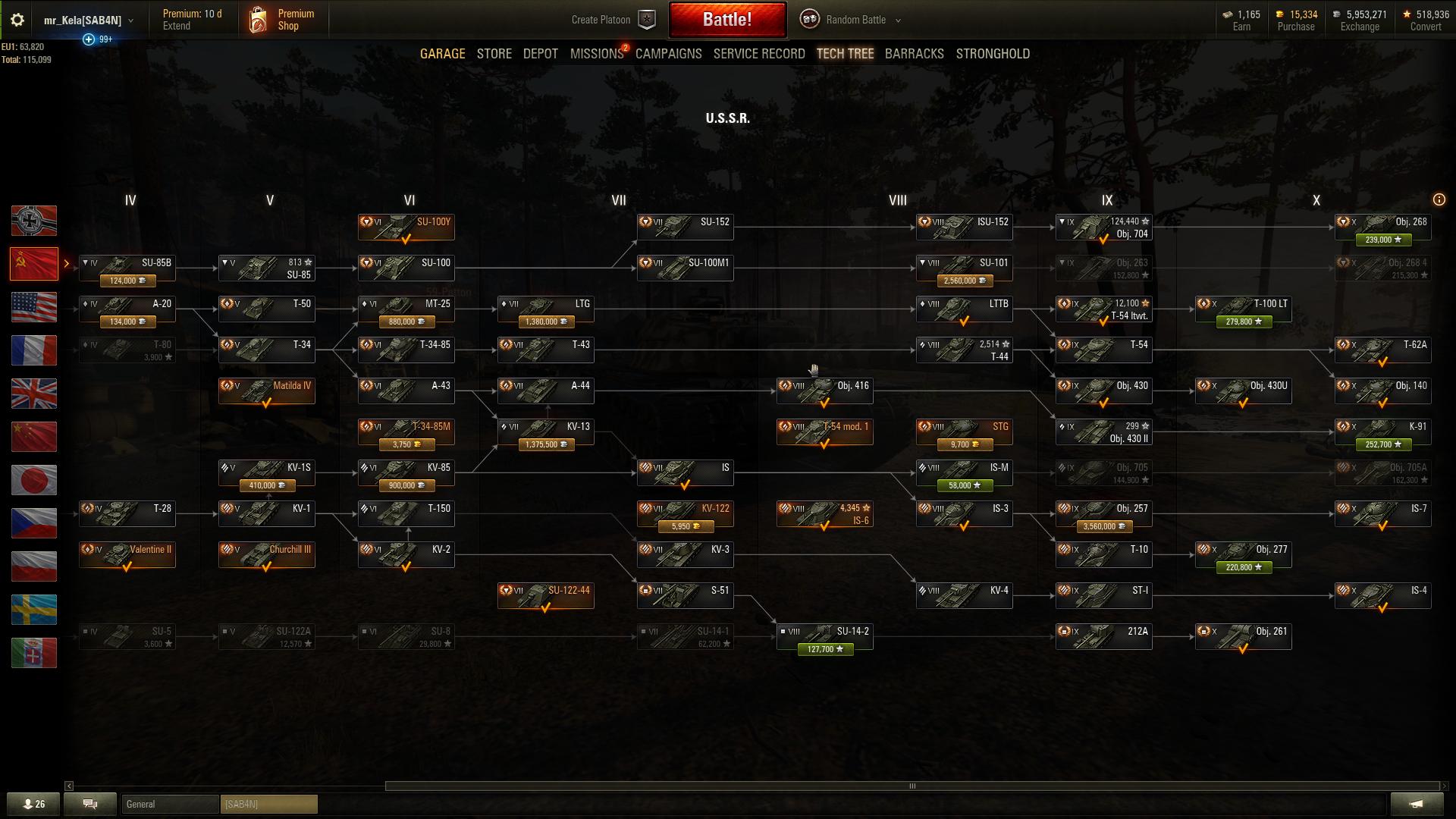 World of Tanks Ruskin novi teski tenk Obj 705a
