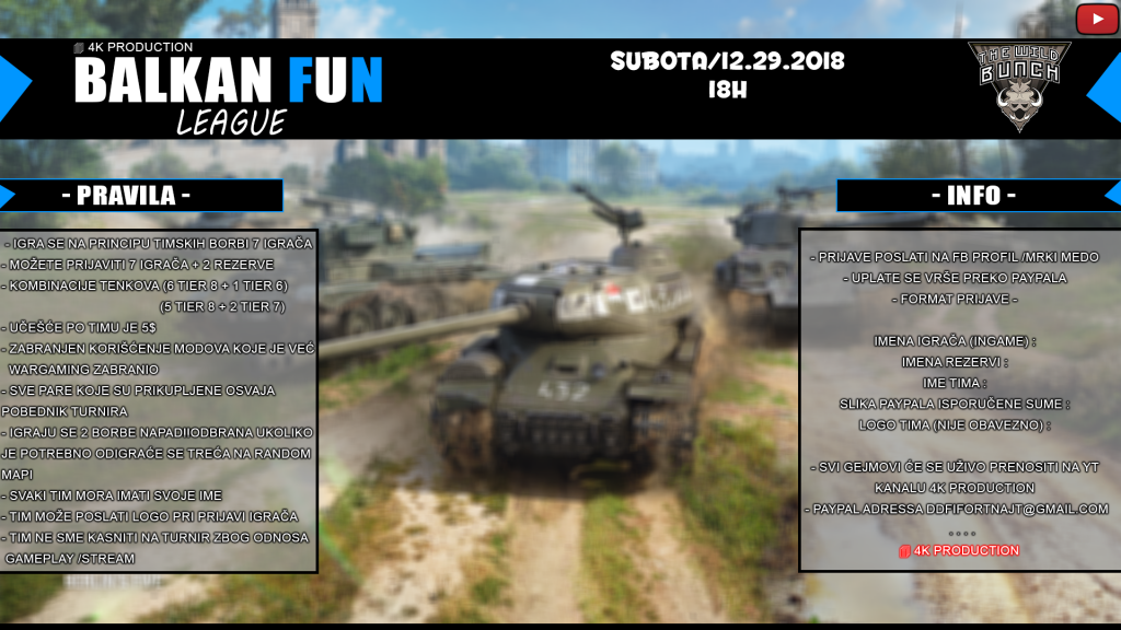 balkan fun liga - world of tanks balkan