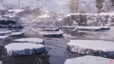 Artic Region HD World of Tanks map Patch 1.0 wot4