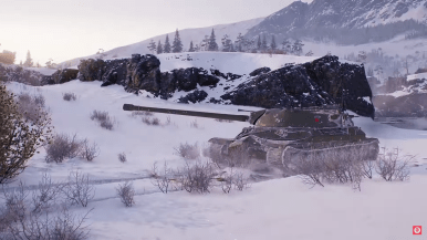 Artic Region HD World of Tanks map Patch 1.0 wot6