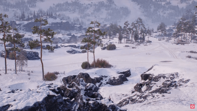 Artic Region HD World of Tanks map Patch 1.0 wot7