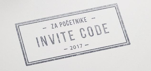 invite code 2017 - invajt kod za 2017 godinu invite kodovi